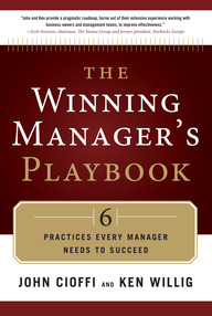 The Winning Manager's Playbook: 6 Practices Every Manager Needs to Succeed